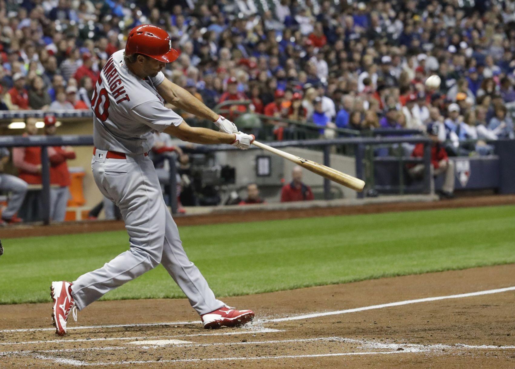 Game Blog Waino Has Four Rbis Cardinals Top Brewers 6 3