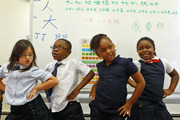Learning Chinese at the St. Louis Language Immersion School
