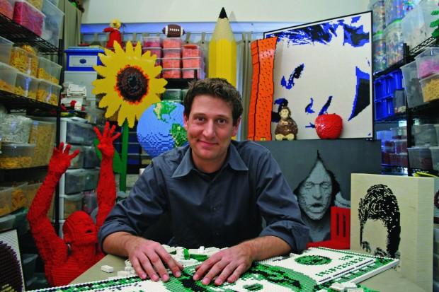 New York artist Nathan Sawaya