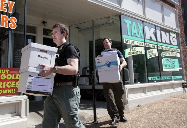 IRS raids St Louis tax preparation businesses  Law and order  stltodaycom