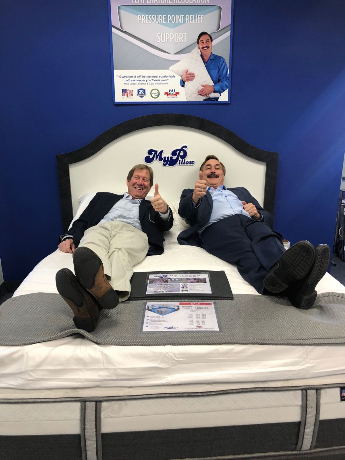 My-pillow-factory 39mypillow Guy 39 Endorses Jason Lewis Business