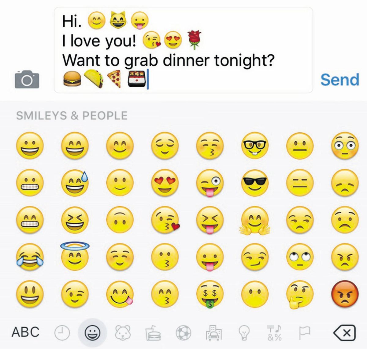 the lure of emojis