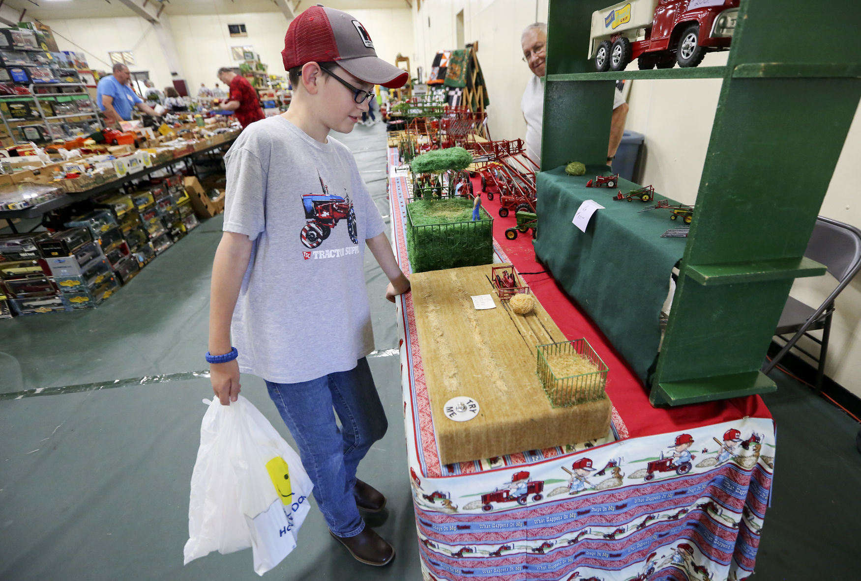 After 34 Years Dyersville Farm Toy Show Still Draws Crowd