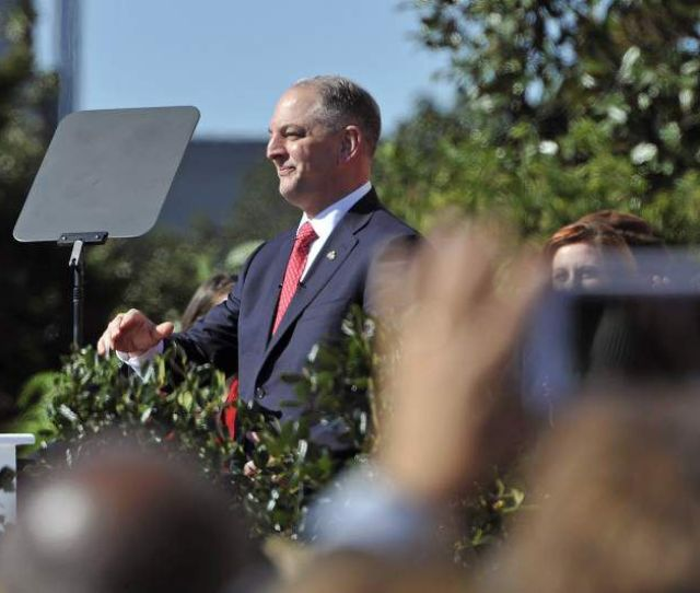 John Bel Edwards Promises Not To Be Business As Usual Governor Vows To End States Fiscal Troubles