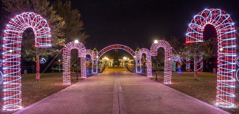 Lafreniere Park Christmas Lights 2017