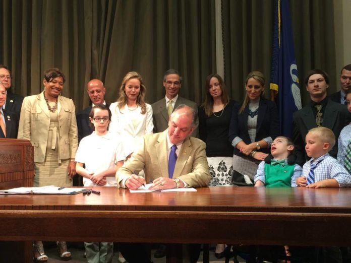 Gov. John Bel Edwards signs measure to expand medical accessibility of marijuana in Louisiana _lowres