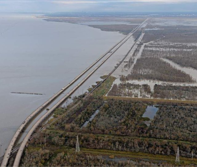 Opening Bonnet Carre Spillway Eases Flooding But Also Has Both