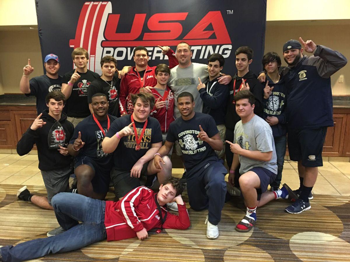 High School Powerlifting Teams