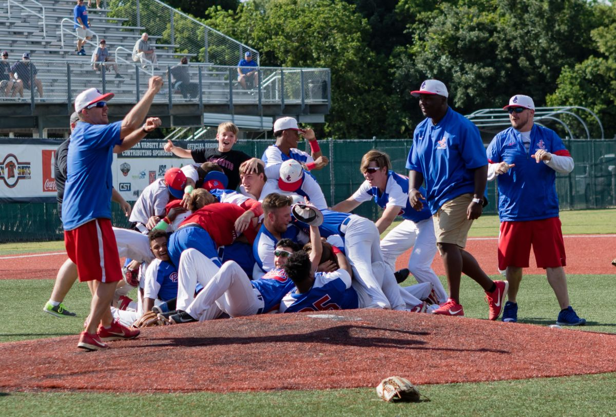 Curtis' Ian Landreneau Tosses -hitter In 5-0 Win Over Catholic State Title High Schools