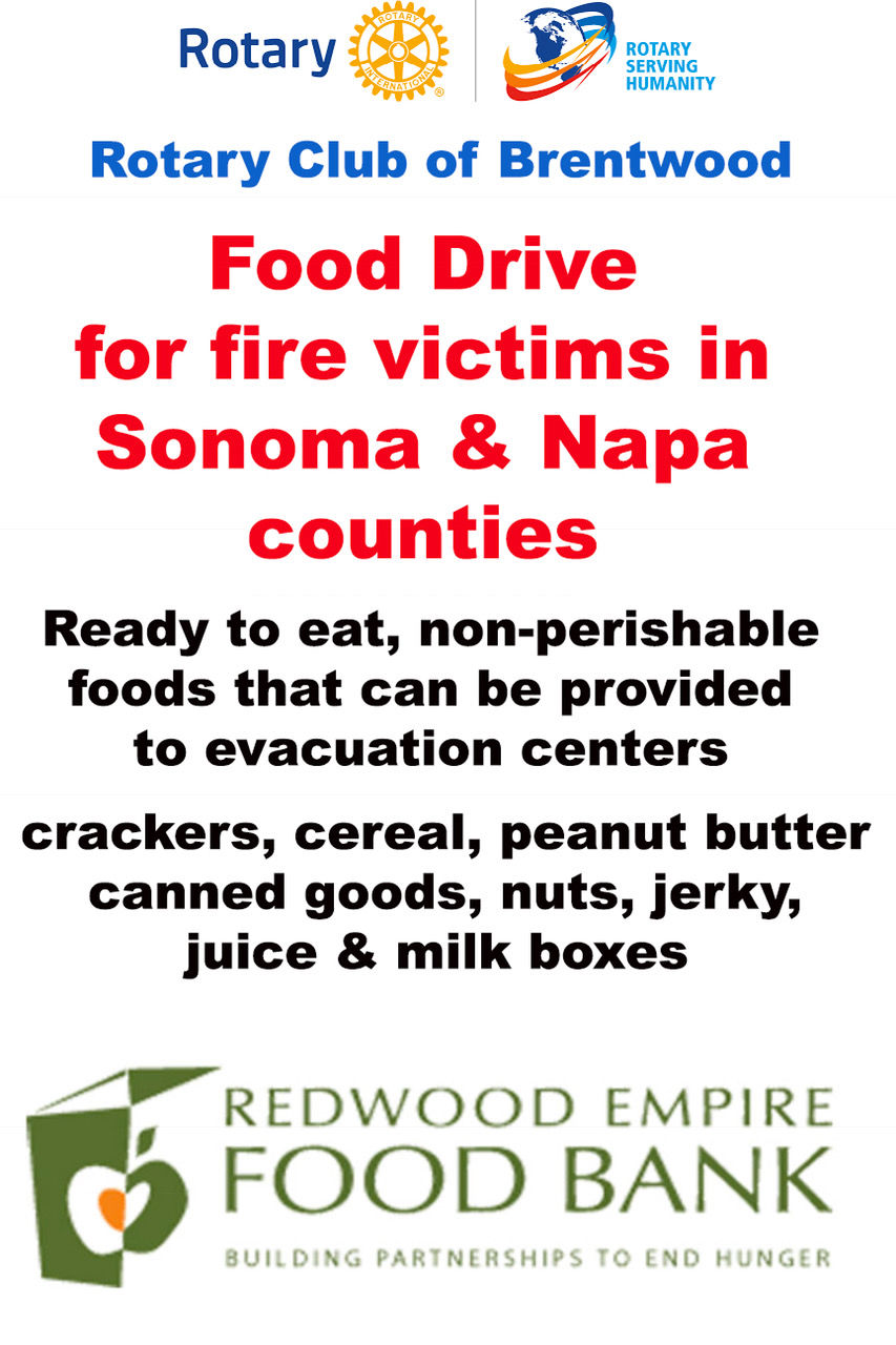 Communitywide food drive underway to help North Bay fire