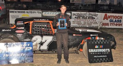 Teen shines on track at Antioch Speedway  Sports