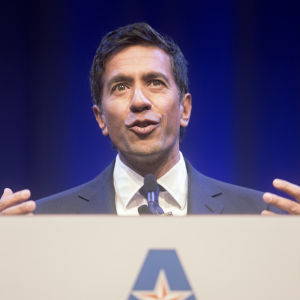 Gupta emphasizes trust, credibility