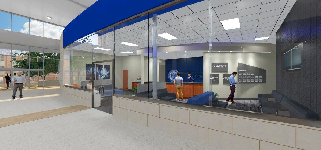 UTA Building New Career Center News Theshorthorn Com