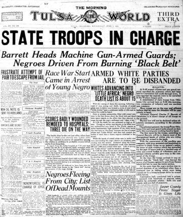 June 1, 1921: Read an early Tulsa World account of the Tulsa Race Riot | Local News | tulsaworld.com