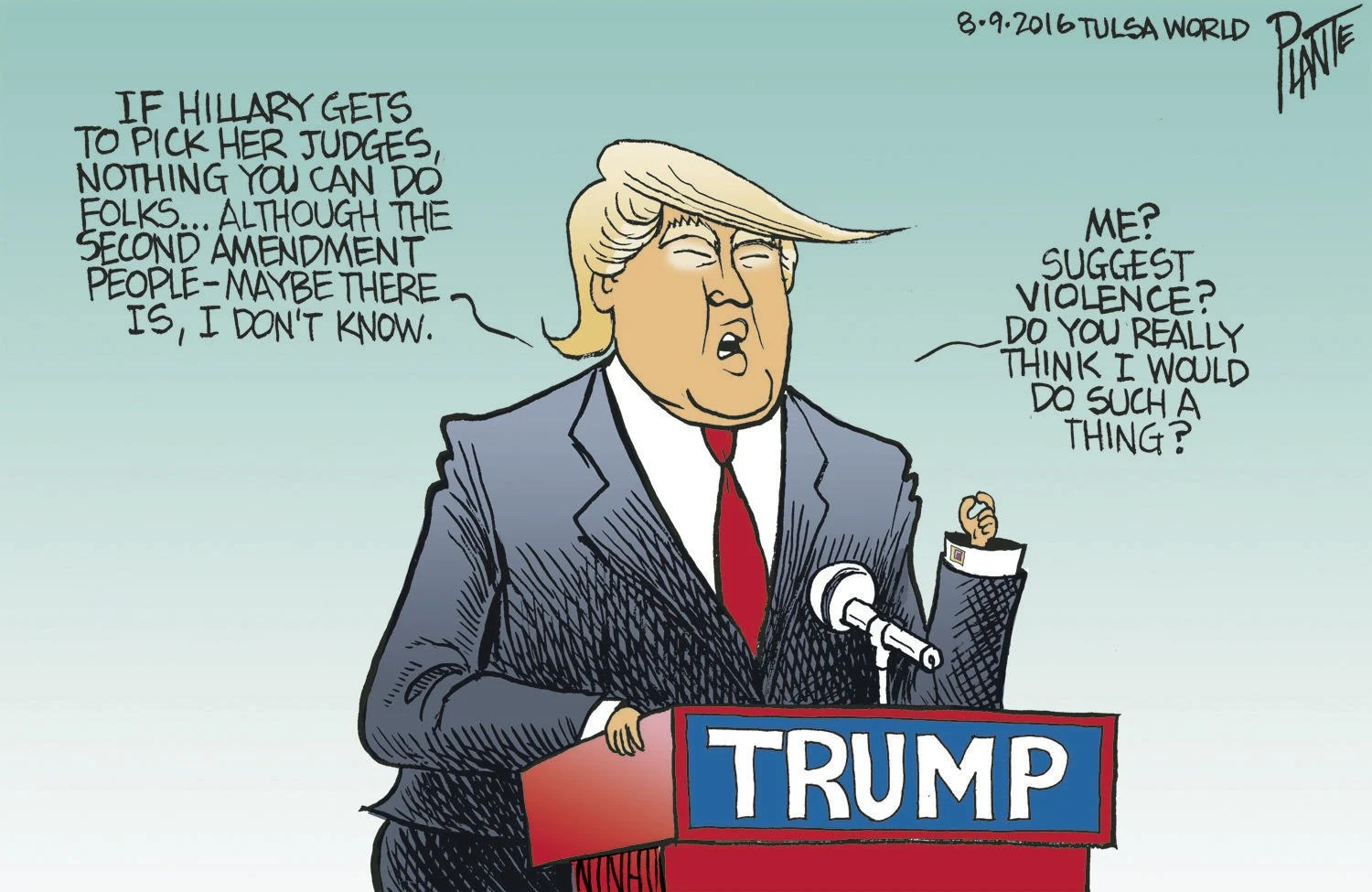 Image result for cartoon trump jobs