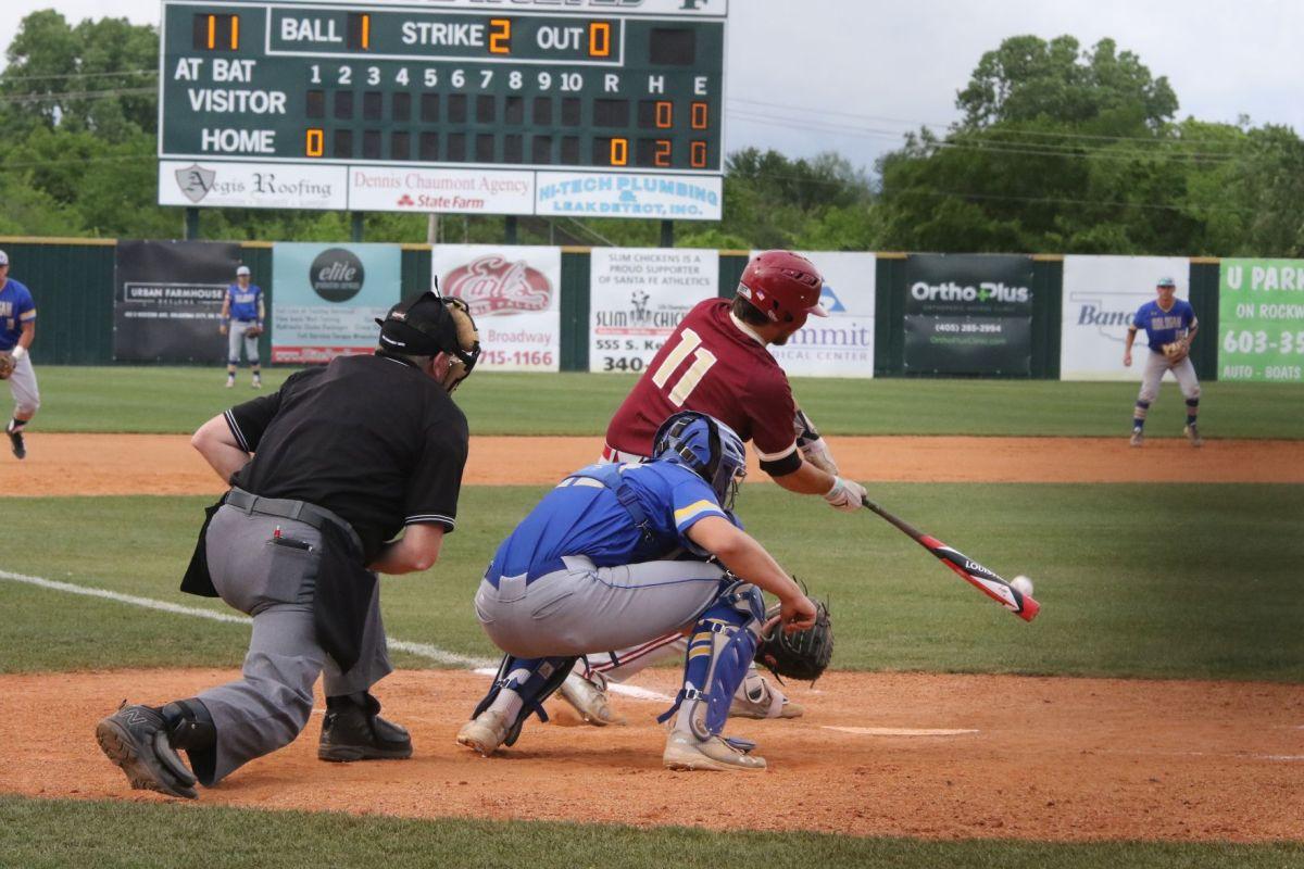 Oologah-talala Byng 4a Baseball Game Santa Fe High School In Edmond