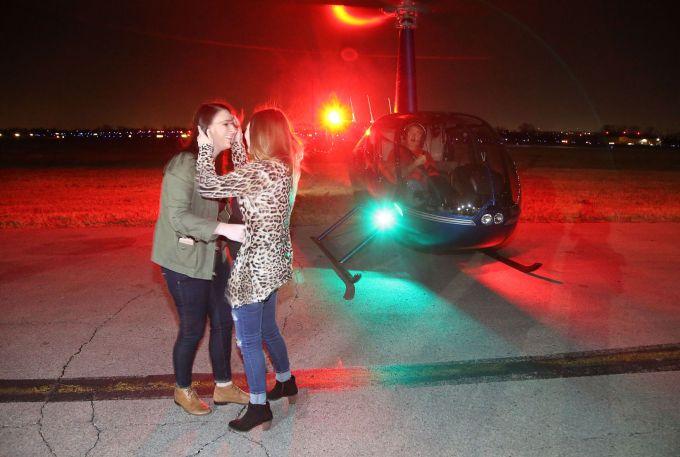 Tulsa Helicopter Christmas Light Tours Adiklight Co