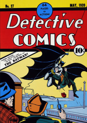 Batman first appearance