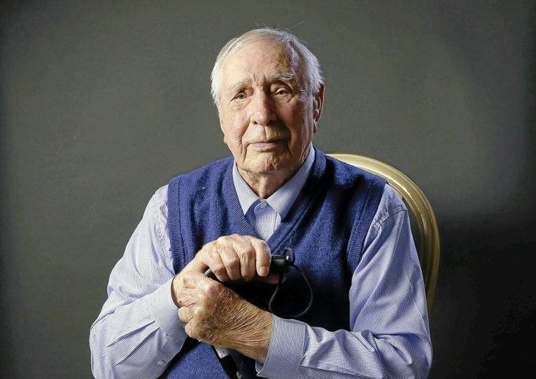 World War II Veterans Remember Olin Hawkins Liberated