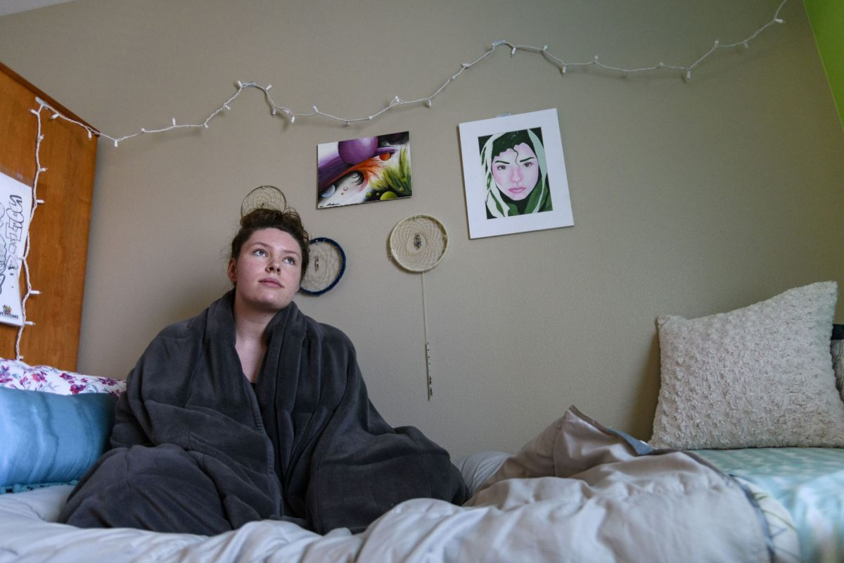 weighted blankets help students