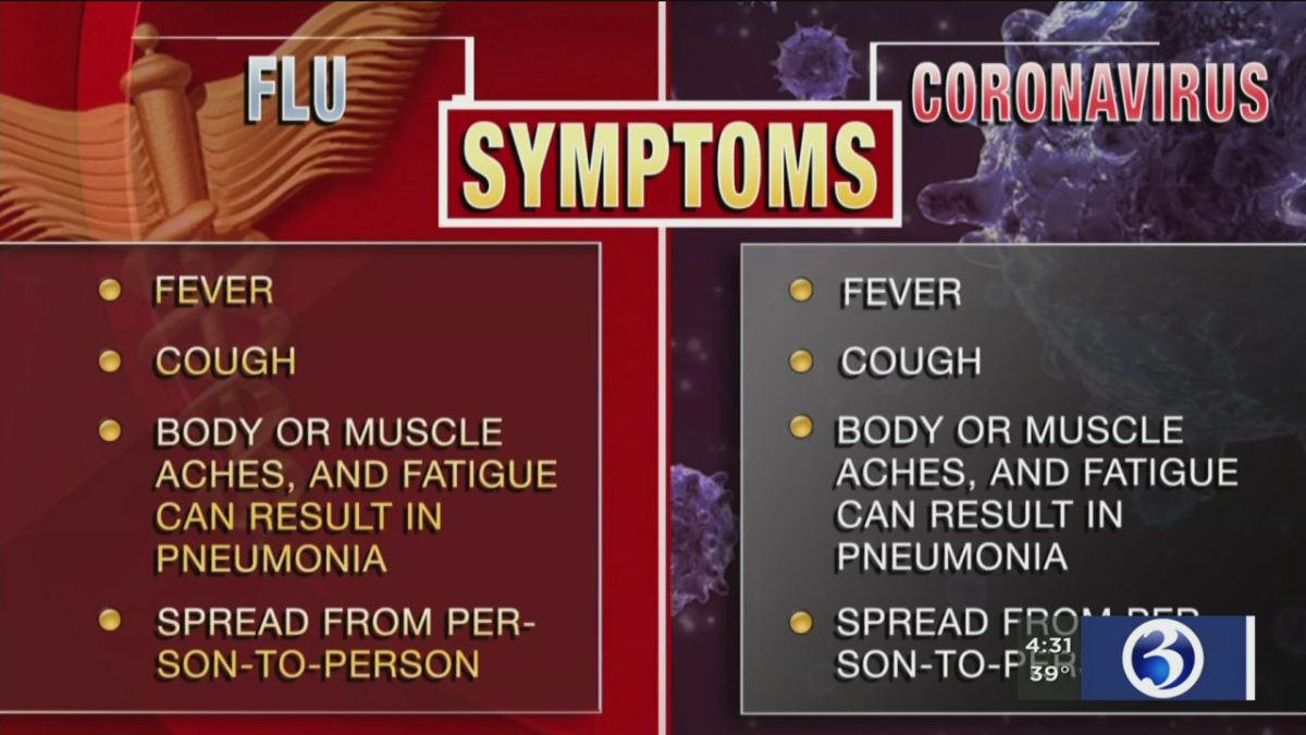 Health experts outline similarities between coronavirus and flu ...