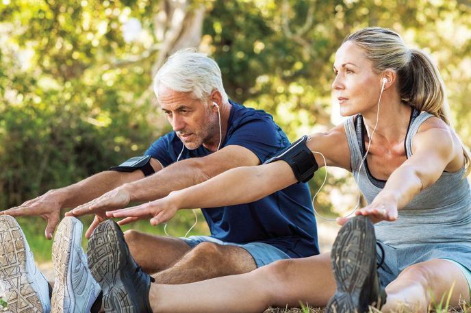 exercise slows aging