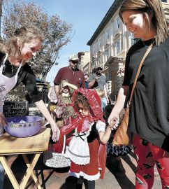 Kids, pets, adults dress up for Spooktacular
