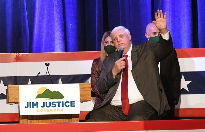 Governor: Justice wins second term | Politics | wvgazettemail.com