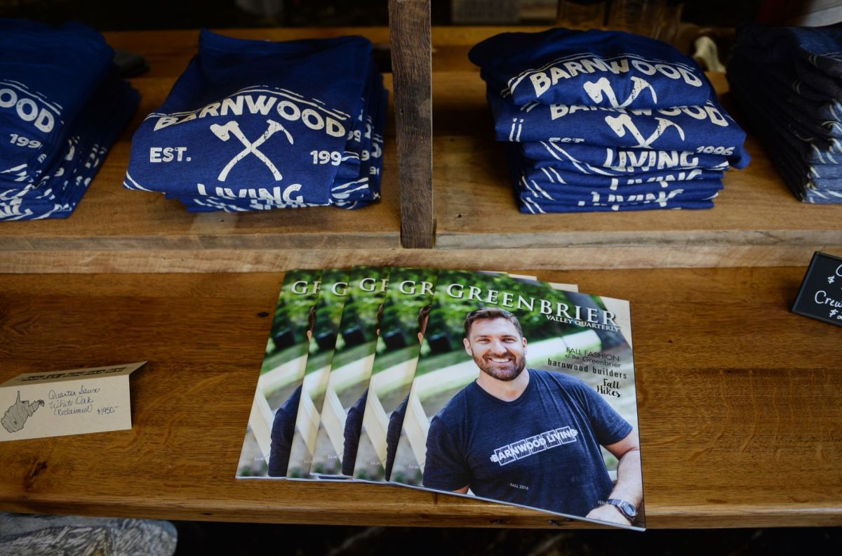 Barnwood Builders share work with community at Greenbrier Co showroom  Business