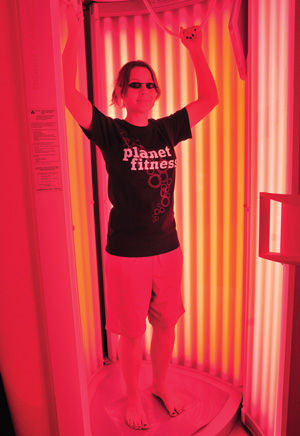 Red light treatment Therapy used in battle against aging