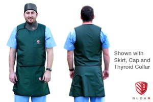 BLOXR XPF Vest and Skirt, 2 piece scatter radiation protection
