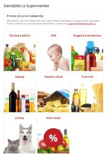 Supermarket DameJidlo.cz