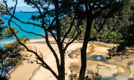 Baie de Sandfly à marée basse