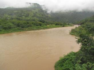 Mkomazi River at the bridge