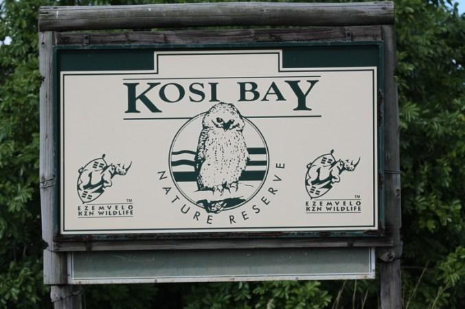 Kosi Bay Camp Entrance