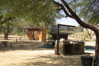 Our campsite at Mara