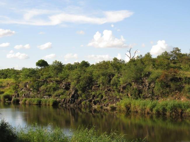 View from Shipandani Hide, nr. Mopani