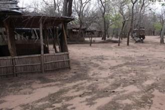Accommodation at Gorongoza with the van Zyls