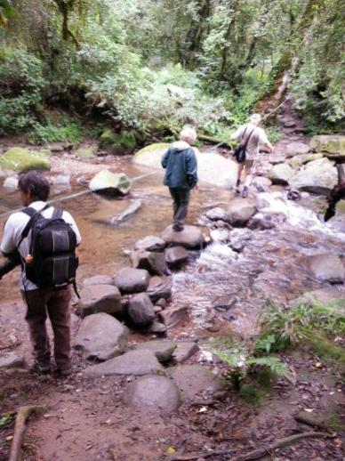 River Crossing on Blue Grotto walk