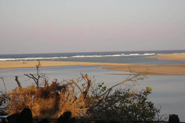 View of Kosi Bay estuary from the Lodge