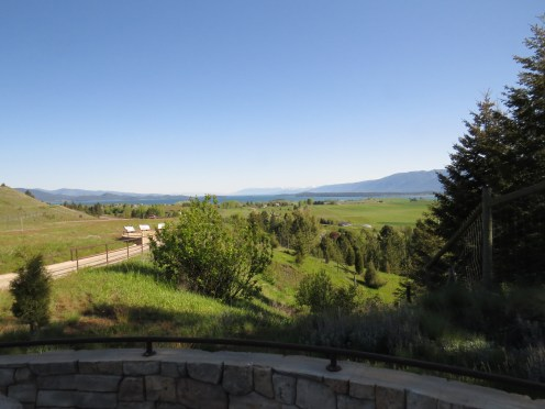 Flathead Lake from the south.