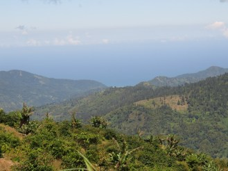 Blue Mountain scenery from Hardwar Gap