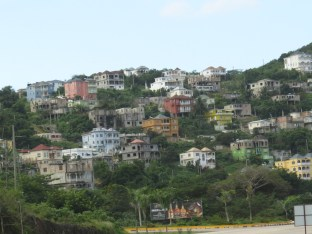 Hillside Development along the north coast