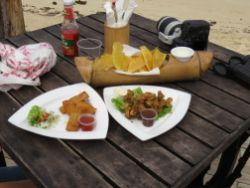 Lunch at Mammee Bay