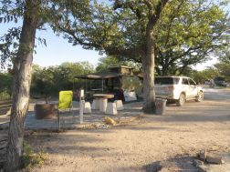 Campsite 37 at Halali - large and private