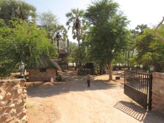 Epupa Falls entrance