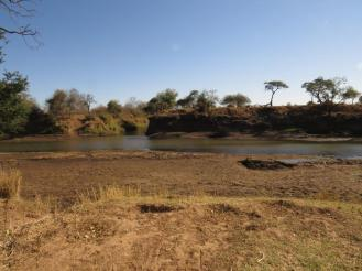 Limpopo with a small stretch of water