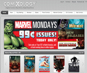 Accessible through their site or application, The ComiXology store boasts over 30,000 comics from 75 different publishers like Marvel, DC, Image, IDW and Valiant.