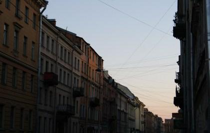Streets of St Petersburg 1