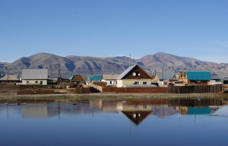 Amid water, steppe and mountains